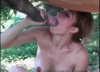 Cute pony has zoo sex