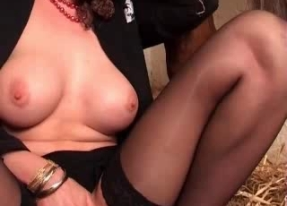 Sweetest amateur zoophilic sex